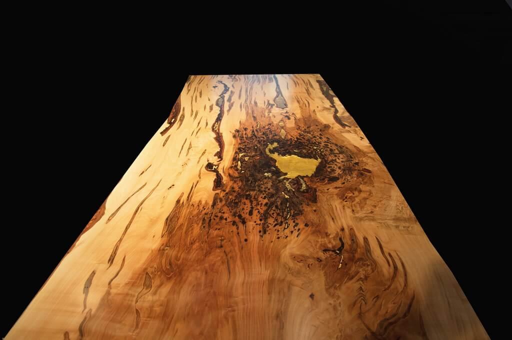 ... Ambrosia Maple Live Edge Table. «