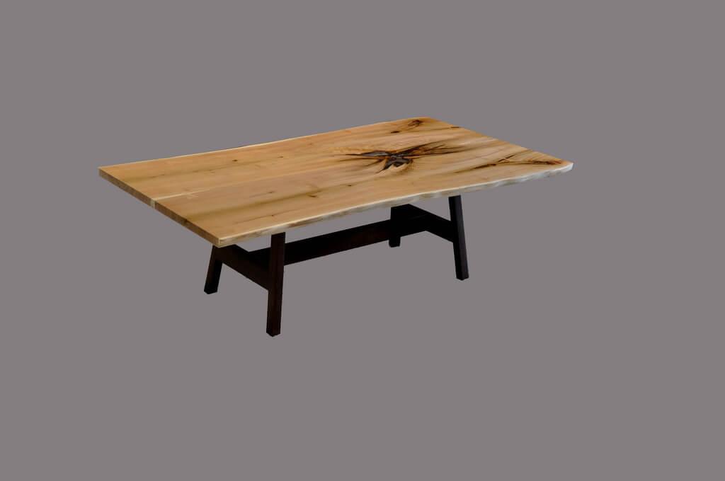 Live Edge Dining Tables Brooks Custom