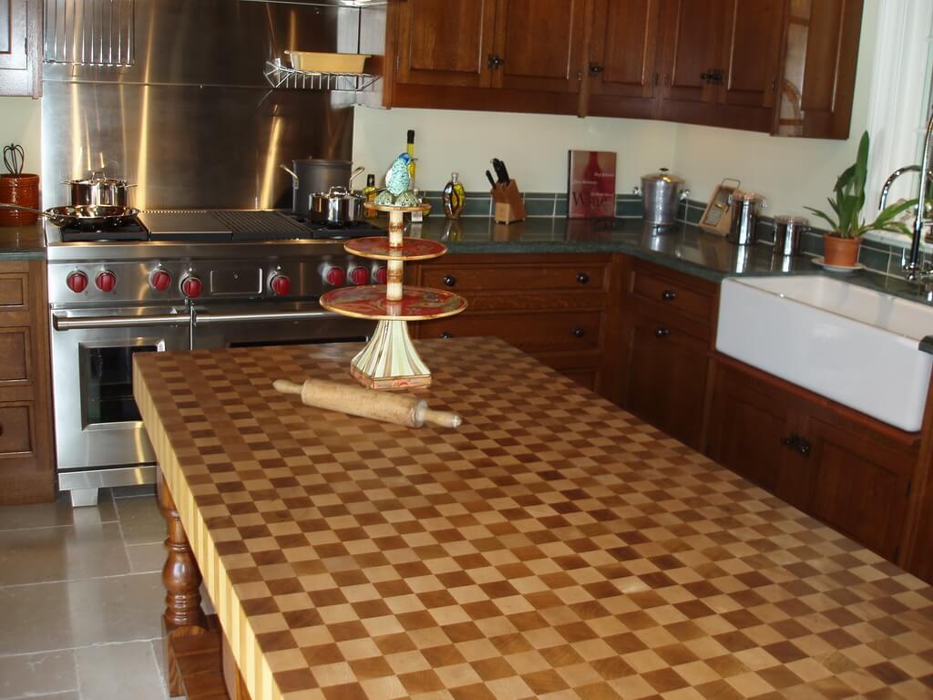 custom butcher block countertops made] building the perfect custom ...