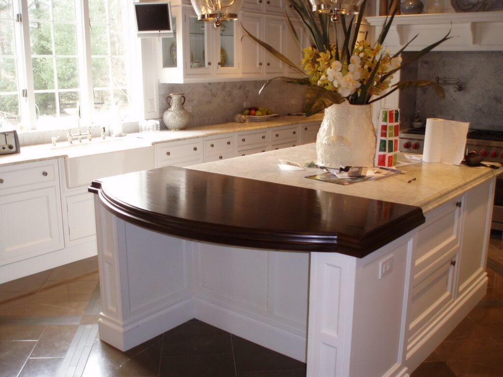 05 walnut wide plank wood countertop in white kitchen resize 2