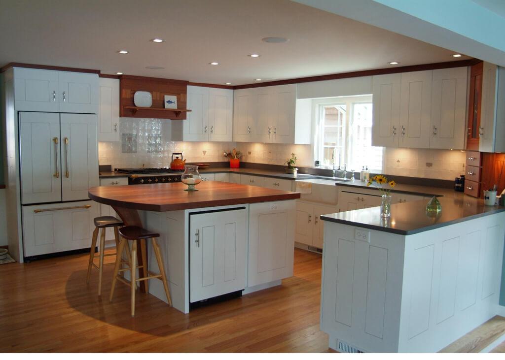 Merveilleux Mahogany Kitchen Island Countertop