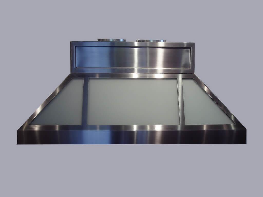 Stainless Steel Hood ~ Stainless steel countertop brooks custom