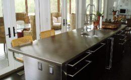 Stainless Steel Kichen Island Countertop