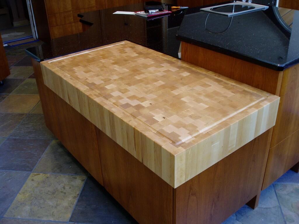 End Grain Maple Cutting Board Brooks Custom - Restaurant prep table cutting boards