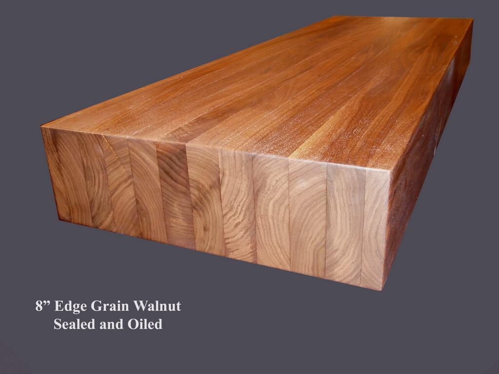 edge grain wood countertops and butcher blocks brooks custom. Black Bedroom Furniture Sets. Home Design Ideas