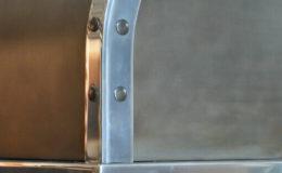 Zinc Range Hood Closeup