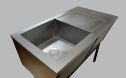 Bespoke Farm-Style Zinc Sink