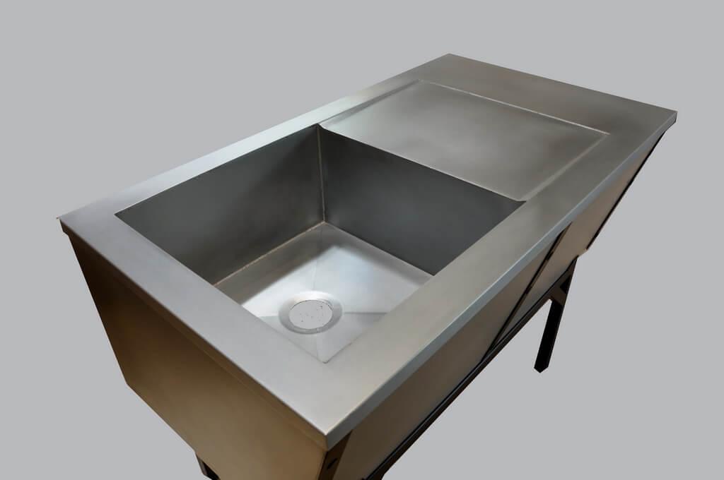 ... Bespoke Farm Style Zinc Sink ...