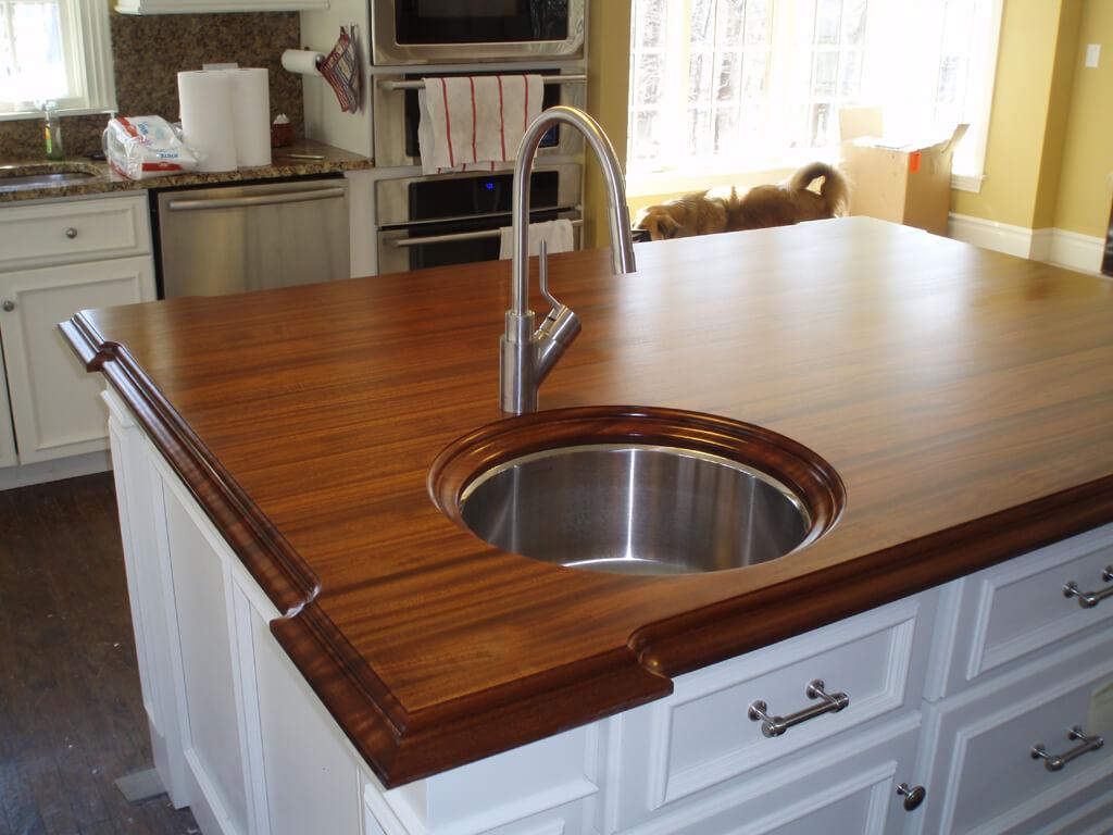Wood Countertops Gallery Brooks Custom