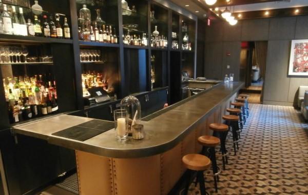 Zinc Bar Tops