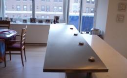 Raised Breakfast Bar Stainless Steel Countertop