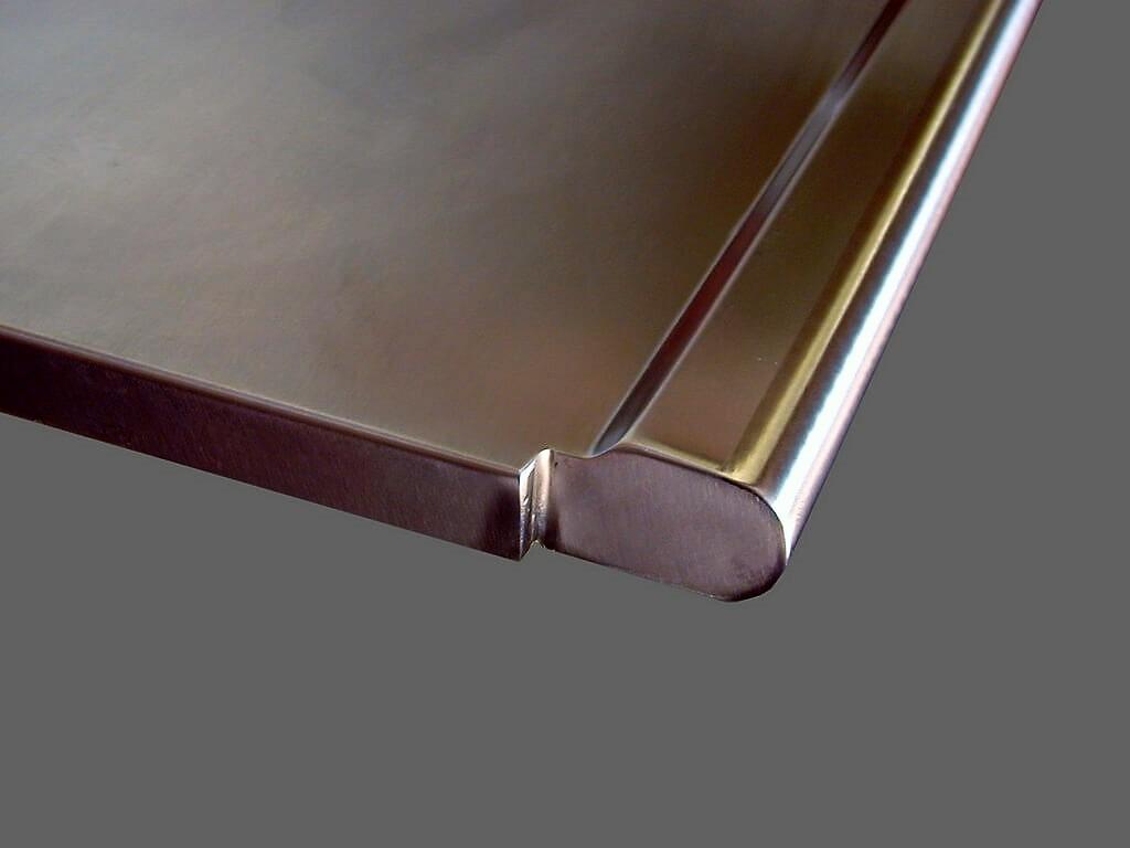Stainless Steel Countertop : Stainless Steel Countertop - Brooks Custom