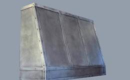 Custom Zinc Range Hood