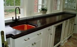 Premium Wide Plank Wood Countertop