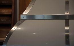 Bell Shape Range Hood Closeup