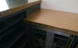 Artisan Cast Bronze Countertop