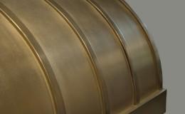 Artisan Cast Brass Range Hood Close-Up