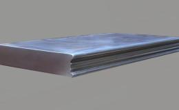 Carnegie Artisan Cast Edge Profile in Zinc