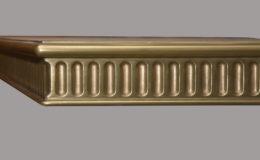 Corinthian Artisan Cast Edge Profile in Brass