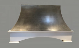 Nickel Coated Metal Range Hood