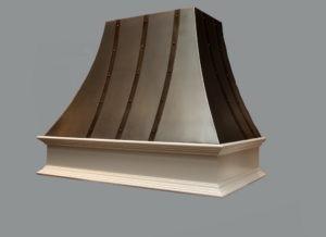 cupola, artisan cast range hood, custom range hood, cast metal range hood
