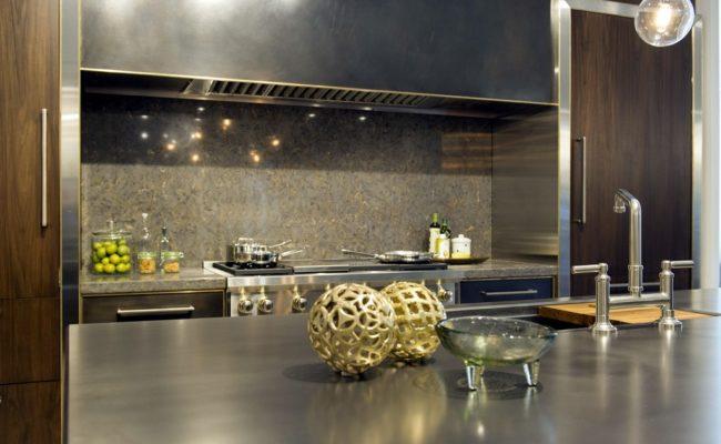 Stainless Steel Artisan Cast Kitchen Island