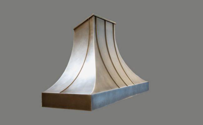 Bugle Style Zinc Range Hood