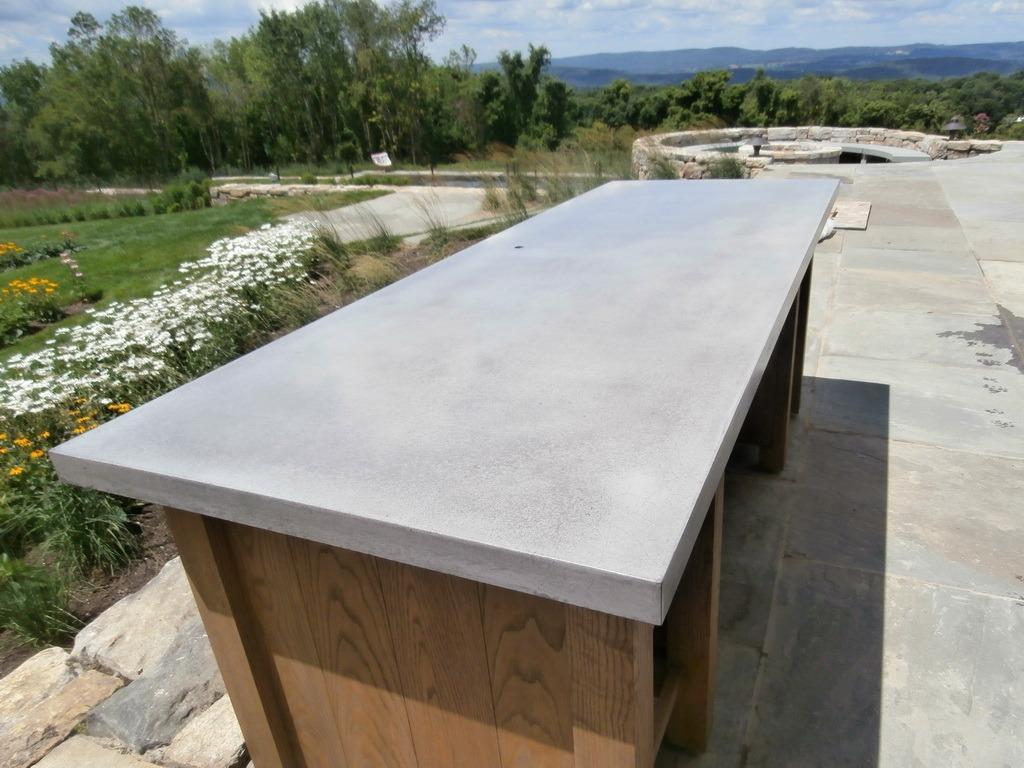 Exterior Concrete Countertops