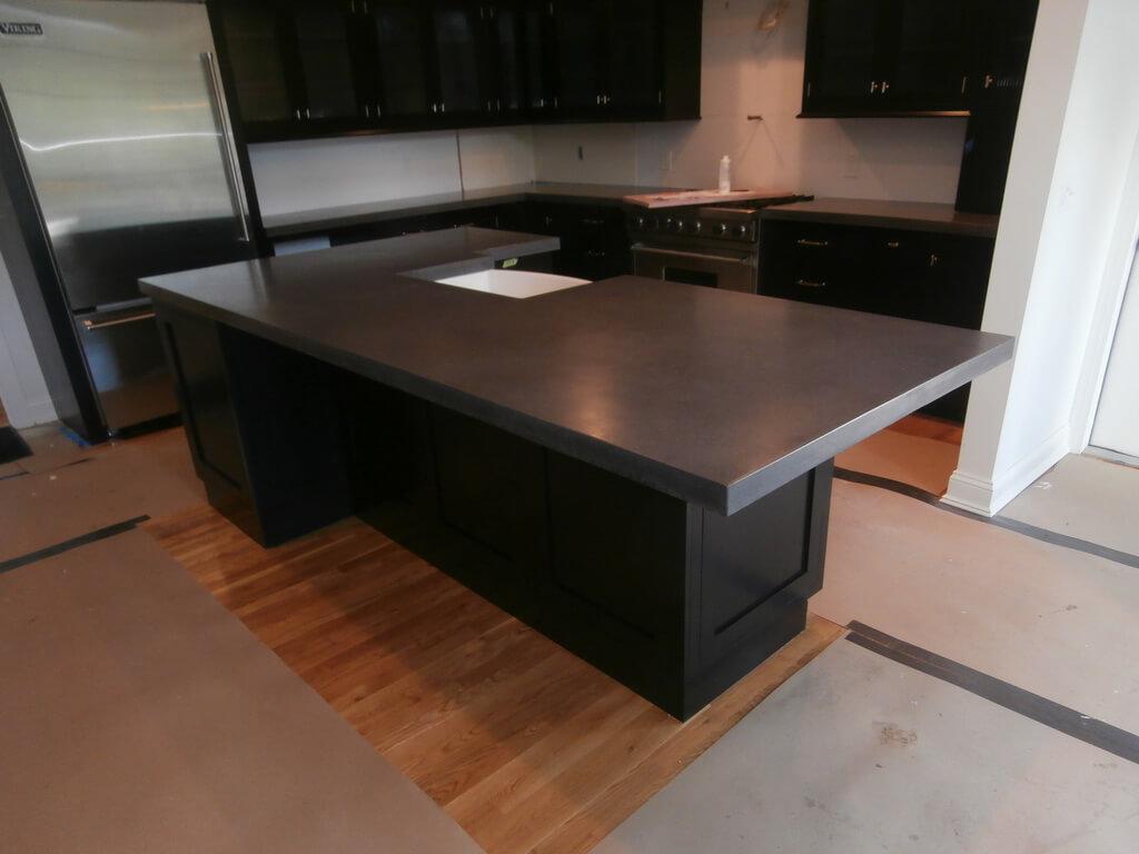 Diy Concrete Kitchen Island