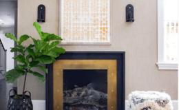 Brass Fireplace Surround