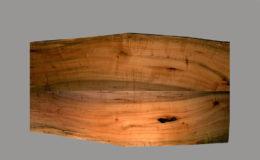 Maple Live Edge Wood Top