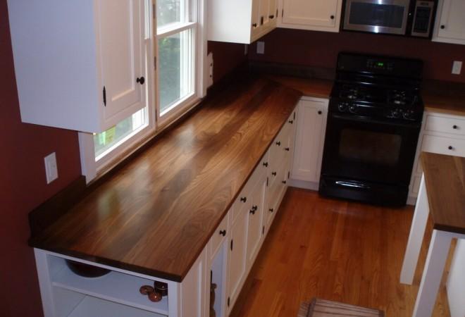 Standard Plank Wood Countertops