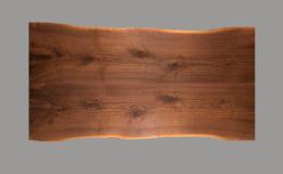 Walnut Live Edge Wood Table Top
