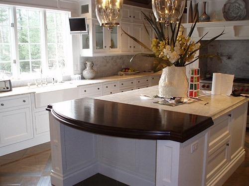 Walnut Premium Wide Plank Countertops