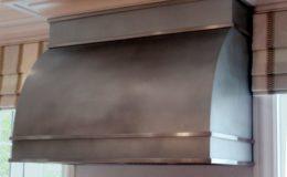 Zinc Custom Metal Range Hood