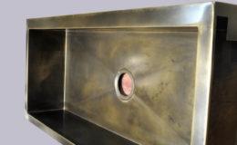 Patina Finish Bronze Sink