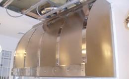 Two-Tone Stainless Steel Range Hood