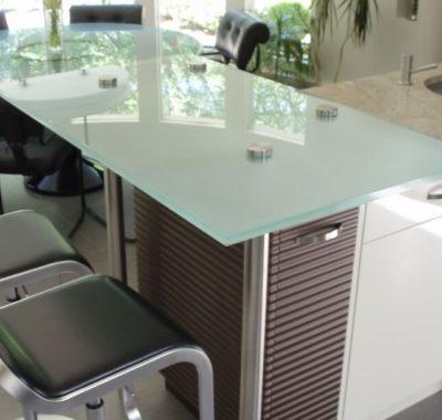 Regular Glass Countertops