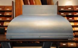 Convex Shape Custom Zinc Range Hood