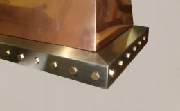 Copper Range Hood Closeup