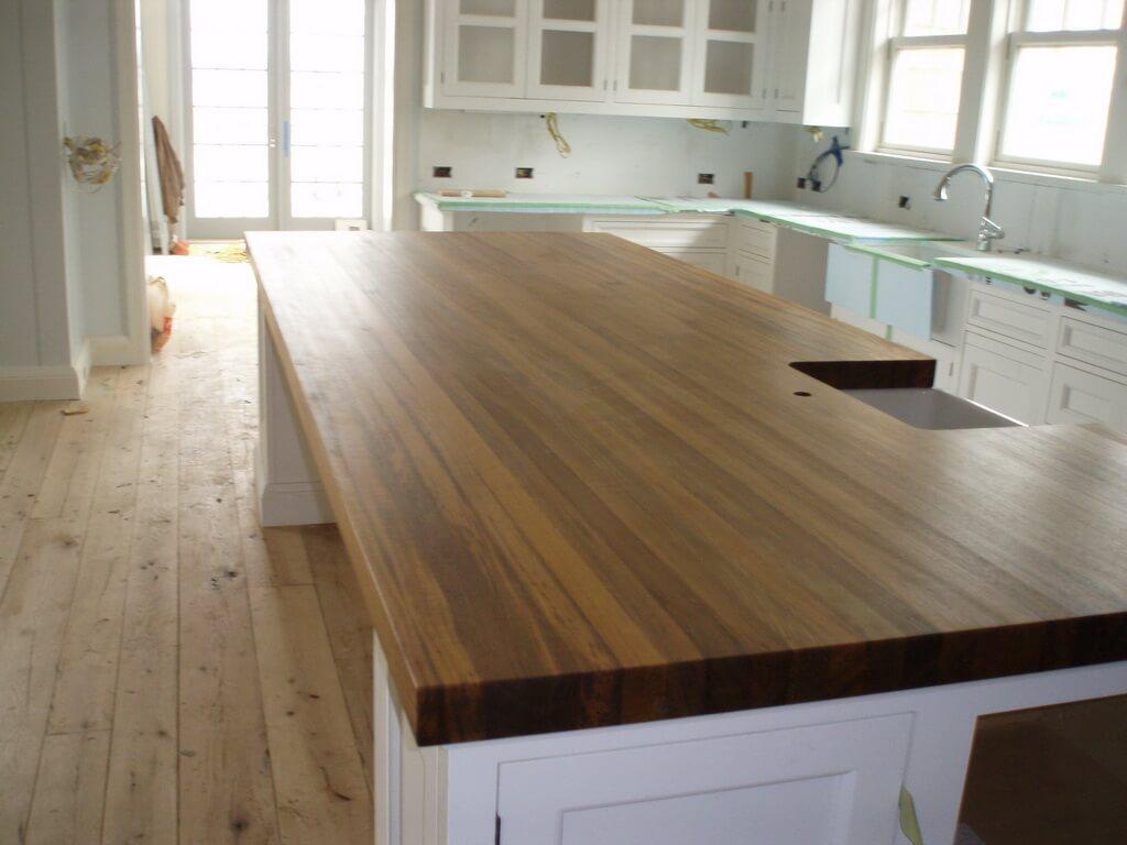 Edge Grain Wood Countertops And Butcher Blocks Brooks Custom
