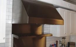 Simple Stainless Steel Range Hood