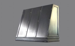 Stainless Steel Artisan Cast Metal Range Hood