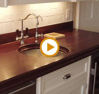 Video – Teak Wood Countertops