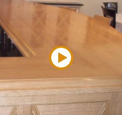 Video – White Oak Wood Countertops