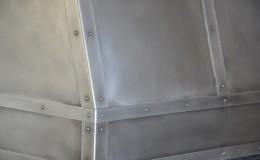 Zinc Range Hood Detail Closeup