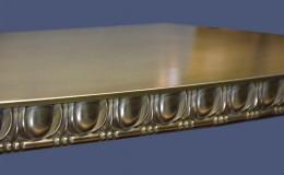 Artisan Cast Brass Countertop Closeup