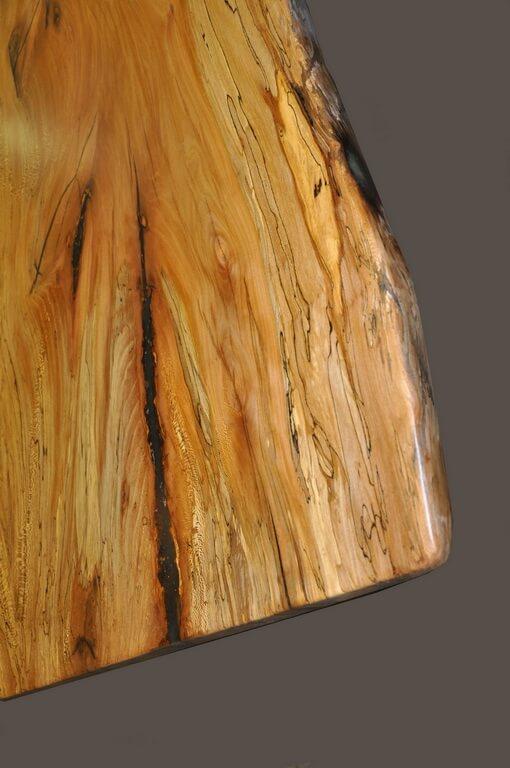Spalted Beech Wood ~ Spalted beech live edge wood figure brooks custom