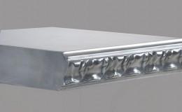 Acanthus Artisan Cast Edge Profile in Aluminum
