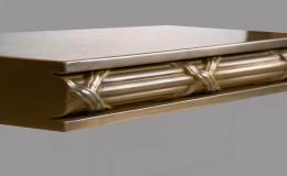 Arlington Artisan Cast Edge Profile in Brass